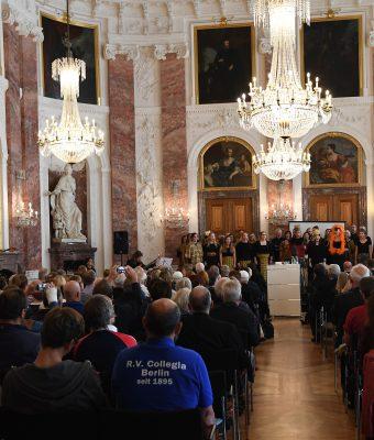 2017 – Auftritt im Rittersaal des Mannheimer Schloss