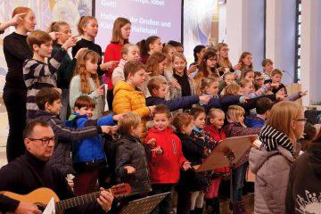 31. Kinderchorprojekt am 30. November und 1. Dezember