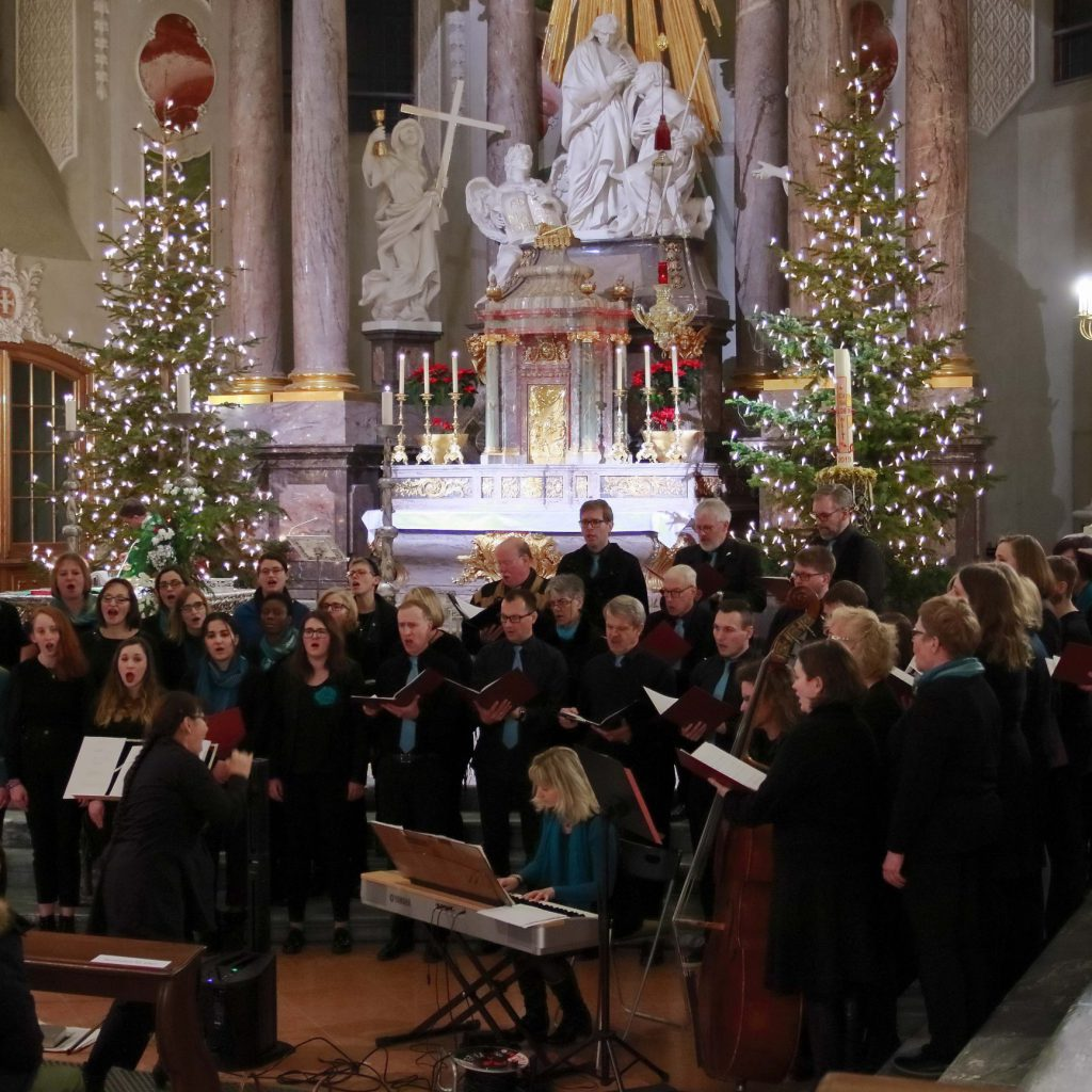 Auftritt in der Jesuitenkirche Mannheim am 18. Januar 2020